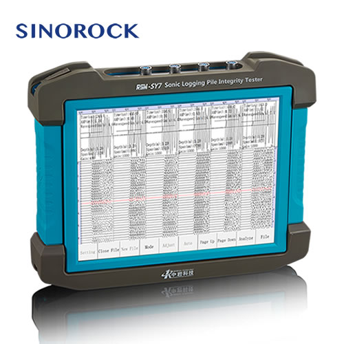 RSM-SY7(F)Ultra Sonic Pile Integrity Tester